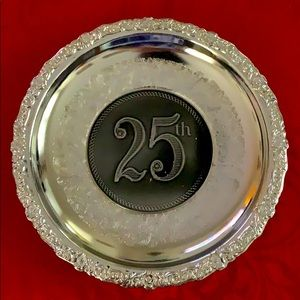 Mayell E.P. On steel 25th anniversary plaque